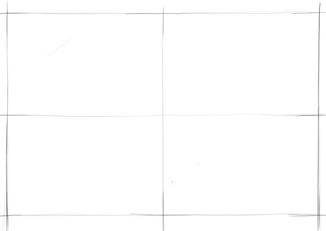 repères principaux du dessin