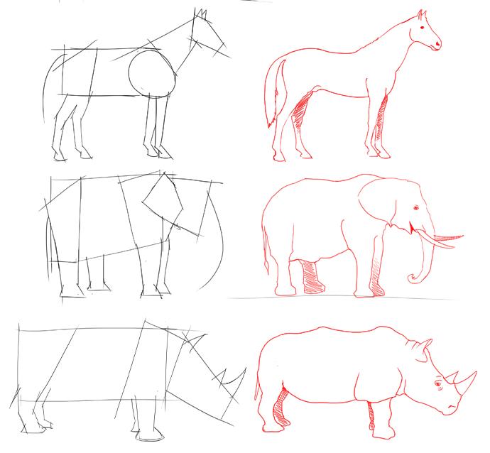 Comment dessiner un quatre quatre - Dessiner des animaux ...