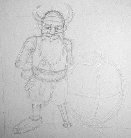 croquis_viking
