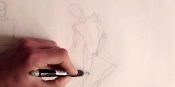apprendre à dessiner un personnage facilement