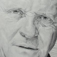 apprendre à dessiner le visage de l'acteur anthony hopkins