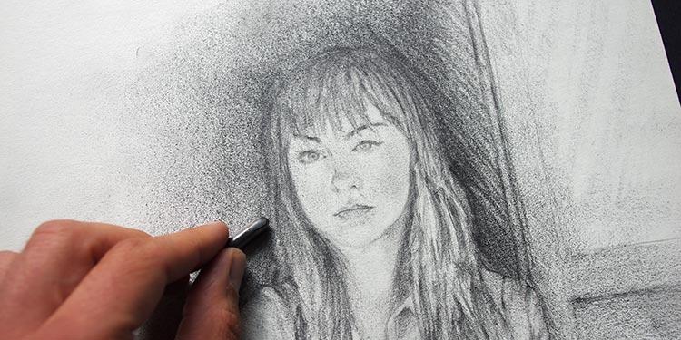 Gut bekannt Apprendre à dessiner un portrait féminin au crayon pas à pas HC44