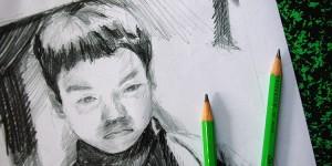 apprendre à dessiner un portrait par dessin-creation