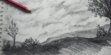 comment dessiner un paysage facilement