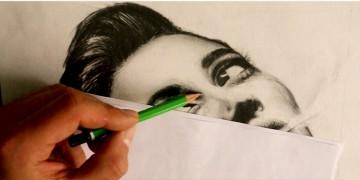 comment dessiner un portrait de femme dans l'ombre au crayon