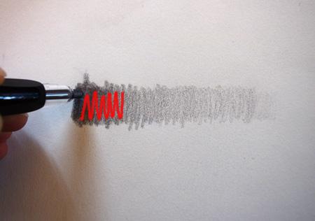 technique pour faire un dégradé au crayon