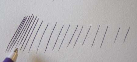 apprendre à dessiner avec des hachures