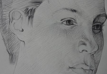comment dessiner un visage avec des ombres