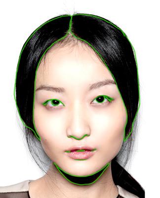 apprendre à dessiner un visage et voir le contraste