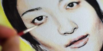 Comment apprendre l'aquarelle en réalisant un portrait