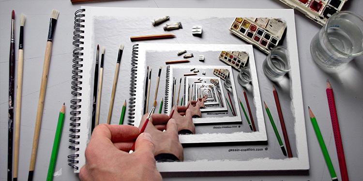 faut-il apprendre le dessin en copiant par dessin-creation