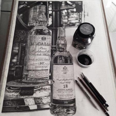 Méthode pour dessiner de manière réaliste et copier une photo