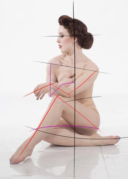 technique pour dessiner le corps de manière dynamique
