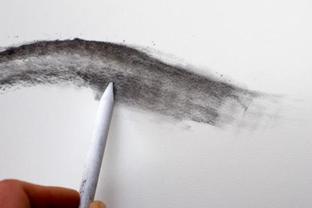 technique pour dessiner au fusain en estompant