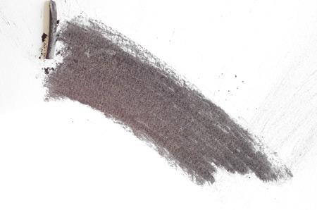 dessiner un aplat au fusain