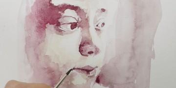 cours d'aquarelle pour apprendre à peindre un portrait par dessin-creation