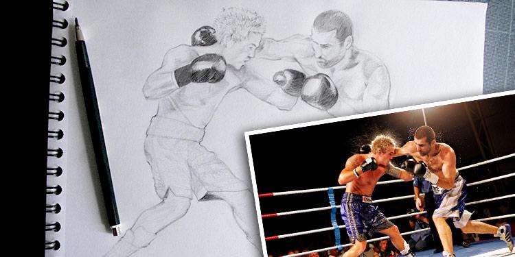 comment dessiner un sportif en mouvement et dynamique par le blog dessin-création