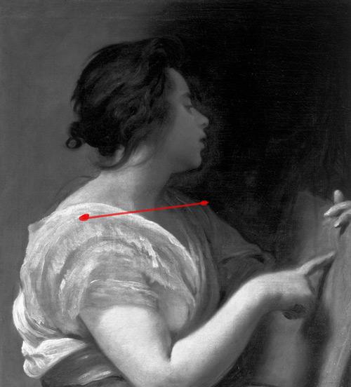Technique pour dessiner le buste d'après une peinture de Diego Velázquez