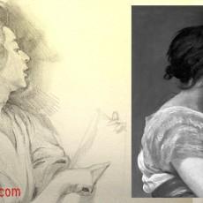 Dessiner un portrait classique d'après une peinture de Velazquez par le blog dessin-creation