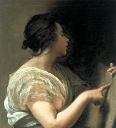 Modèle pour dessiner-un-portrait-classique d'après une peinture de Diego Velazquez