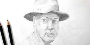 Technique rapide pour dessiner un portrait sans copier en s'inspirant du modèle.