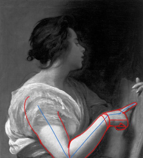 Technique de dessin pour dessiner le bras et pour réaliser un portrait classique