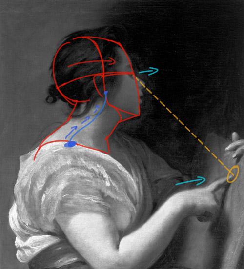 Cours de dessin pour apprendre à dessiner un portrait classique d'après une oeuvre de Velazquez