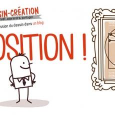 apprendre à dessiner et peindre en observant avec l'exposition du blog dessin-creation