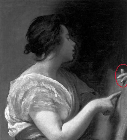 observer la technique de Diego velasquez, pour dessiner un portrait contrasté