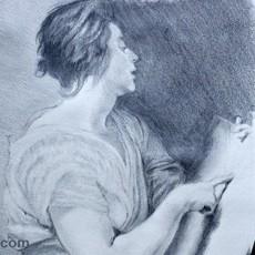 apprendre la technique pour dessiner un portrait et bien le contraster