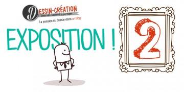 exposition de dessin et peinture par le blog dessin-creation