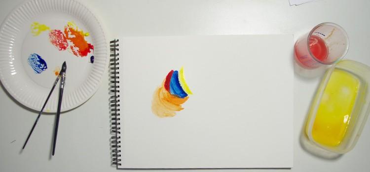 apprendre une technique ancienne pour peindre à la tempera