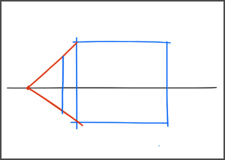 Technique de base pour dessiner une maison en perspective for Dessiner sa maison en ligne