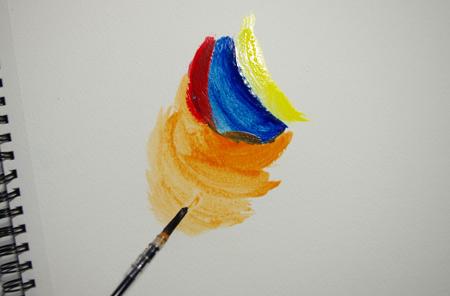 La bonne technique de peinture à la tempera