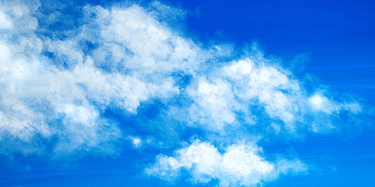 technique simple pour peindre un ciel avec des nuages apprendre dessiner avec dessin cr ation. Black Bedroom Furniture Sets. Home Design Ideas