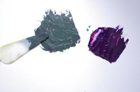 Comment melanger les couleurs et obtenir une teinte verte avec une technique simple