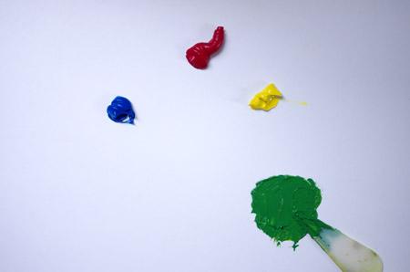 méthode pour mélanger les couleurs primaires en peinture