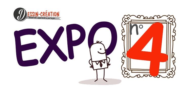 exposition du blog dessin création pour apprendre le dessin en partageant et en montrant nos oeuvres