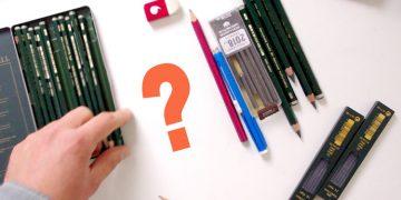 conseils en vidéo sur ce que j'utilise comme matériel pour dessiner