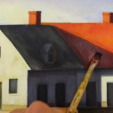 le glacis est une technique de peinture très pratique pour peindre à l'acrylique