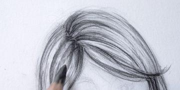 technique pour dessiner les cheveux en 7 étapes simple et éfficace