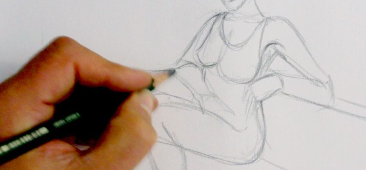 voici une technique pour dessiner rapidement et faire des croquis vivants et dynamiques