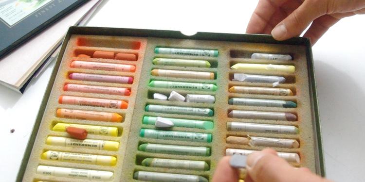 Technique pour apprendre le pastel sec et commencer à peindre
