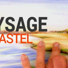 technique de peinture au pastel pour imaginer et peindre un paysage simplement