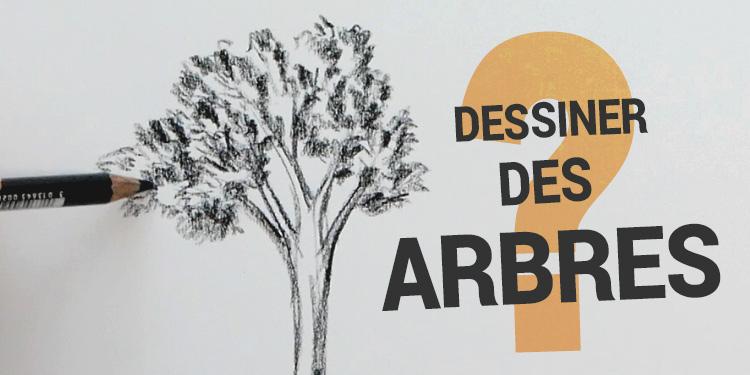 6 techniques simples pour dessiner des arbres apprendre dessiner avec dessin cr ation. Black Bedroom Furniture Sets. Home Design Ideas