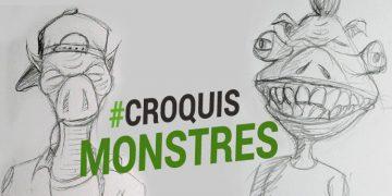 un bon exercice pour dessiner des monstres et faire des caricatures par dessin-creation