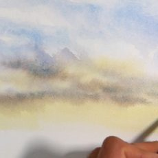 voici un atelier pour apprendre à peindre à l'aquarelle. Un cours de peinture complet pour débutants