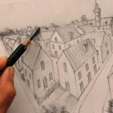 apprendre les techniques du dessin en perspective en suivant cette formation