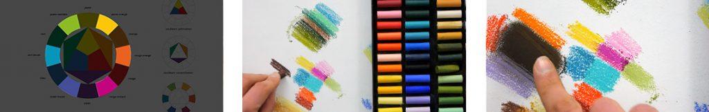 Apprendre la peinture en étudiant la couleur avec cette formation pastel