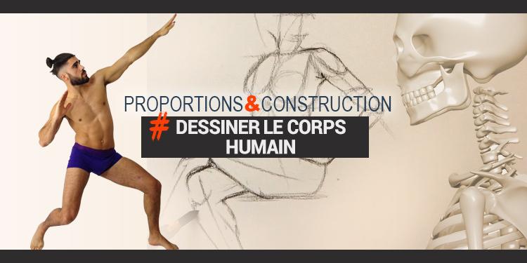 Formation pour dessiner le corps humain et apprendre à le structurer facilement